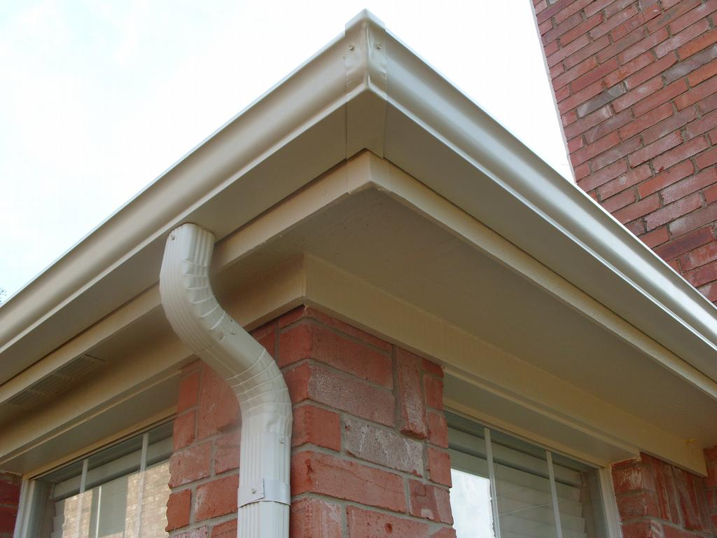 How much does gutter installation cost siding for New gutters