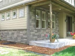 Stone and brick veneer
